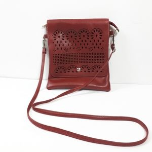 Burgundy Crossbody Bag Purse